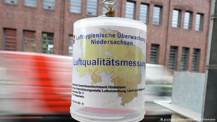 Deutschland, Messgerät zur lufthygienischen Überwachung