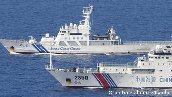 China Japan Taiwan Konflikt um die umstrittenen Senkaku Inseln Symbolbild
