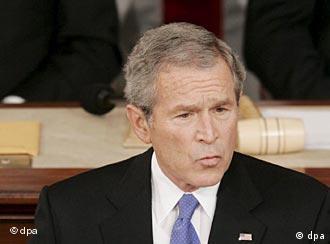 Präsident Bush, Quelle: AP