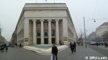 Titel: Kroatische Nationalbank Bildbeschreibung: Kroatische Nationalbank (Hrvatska narodna banka) in Zagreb Stichwort: Bank, Zagreb, Kroatien Autor: Igor Lasic, DW-Korrespondent