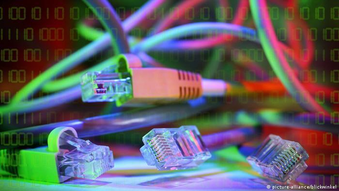 Symbolbild Internet Verbind Störung Netz Netzwerk