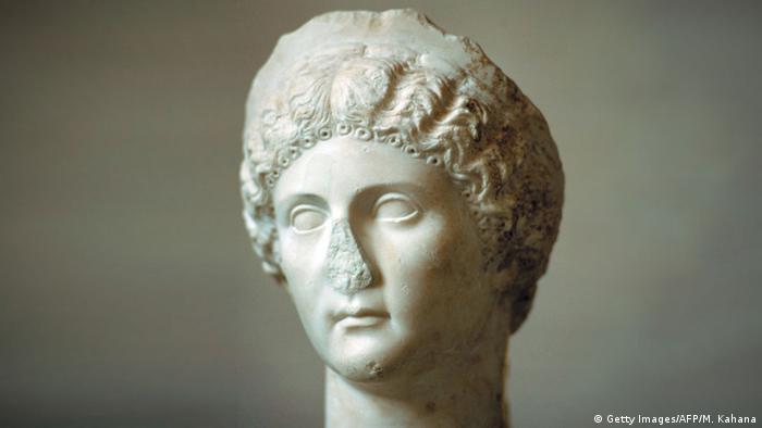 Прижизненный скульптурный портрет Агриппины