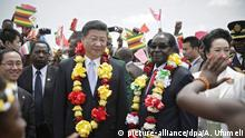 Simbabwe Harare Besuch Xi Jinping