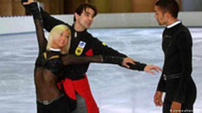 Erfolgreiches Eiskunstlaufpaar aus Chemnitz (picture-alliance/ ZB)