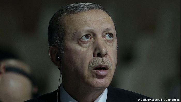 Türkei Prozess Vergleich von Erdogan mit Gollum