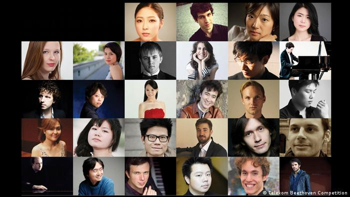 A collage of the participants of the Telekom Beethoven Competition, Copyright: Telekom Beethoven Competition
