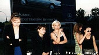 Prostitution Moskauer Straßenstrich