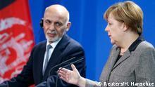 Deutschland Afghanistan PK Merkel mit Ghani