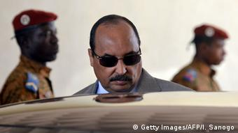 Mauretanien Präsident Mohamed Ould Abdel Aziz (Getty Images/AFP/I. Sanogo)
