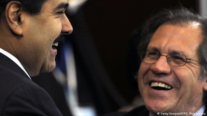 Luis Almagro und Nicolas Maduro
