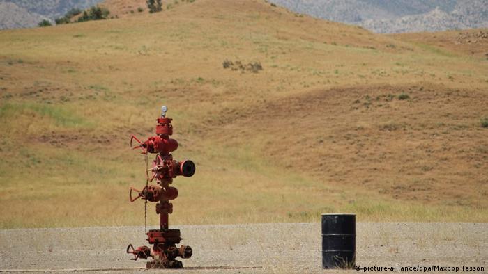 Ölfeld im irakischen Tawke (Foto: dpa)