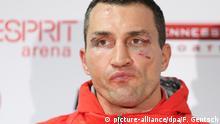 Deutschland Boxen Tyson Fury gegen Wladimir Klitschko in Düsseldorf