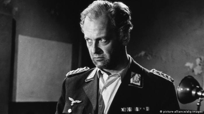 Deutschland Schauspieler Curd Jürgens in Des Teufels General