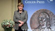 Deutschland Merkel erhält den Abraham-Geiger-Preis 2015