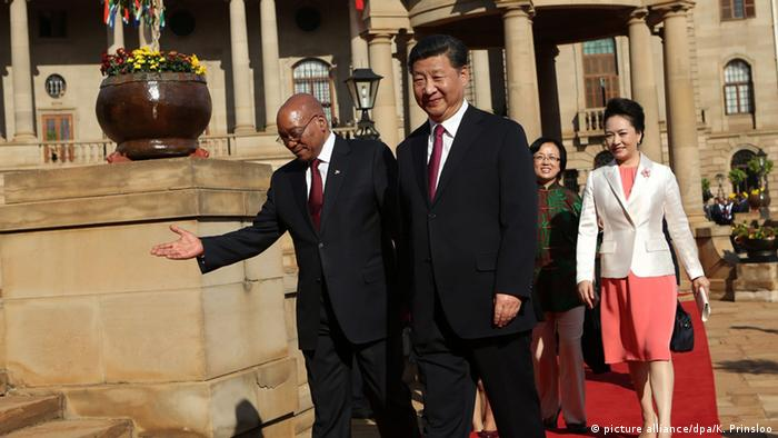 Xi Jinping besucht Südafrika (picture alliance/dpa/K. Prinsloo)