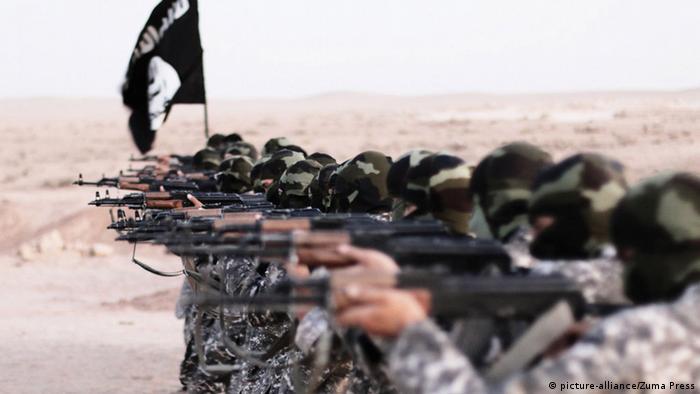 Syrien Kämpfer des Islamischen Staats