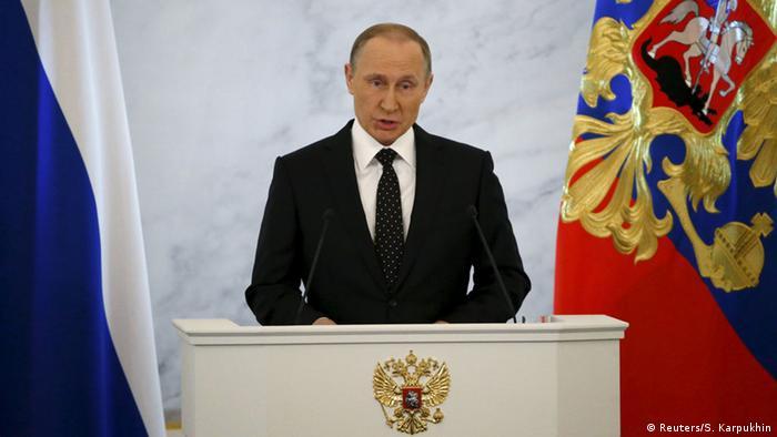 Russland Präsident Putin Rede zur Lage der Nation