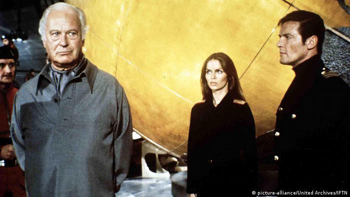 Deutschland Schauspieler Curd Jürgens in James Bond
