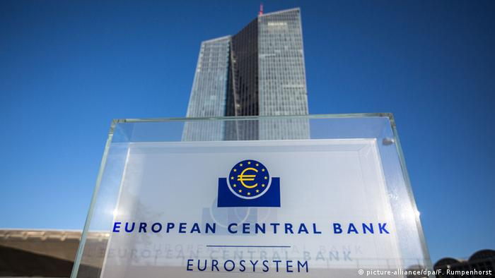 EZB Gebäude Symbolbild