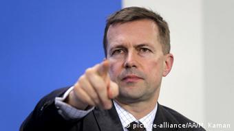 Штеффен Зайберт (Steffen Seibert) - представитель канцлера Германии