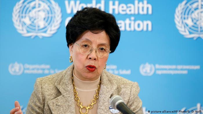 Margaret Chan Generaldirektorin Weltgesundheitsorganisation WHO