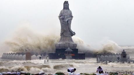 China Taifun Dujuan (Foto:Reuters/China Daily)