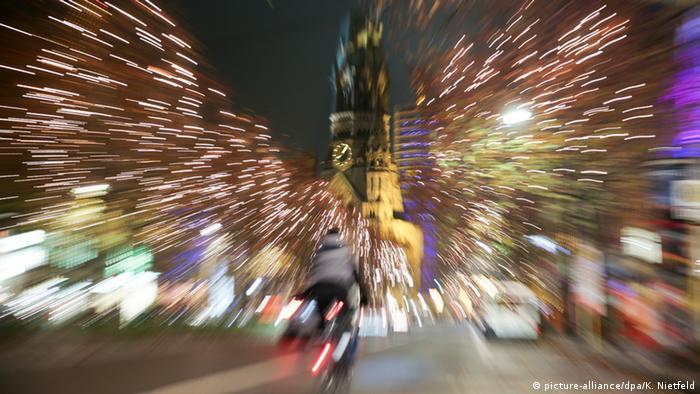 Weihnachtszeit in Berlin Kurfürstendamm