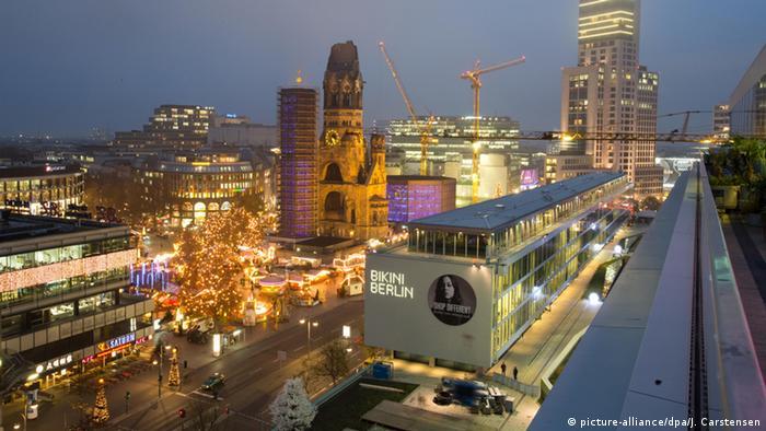 Weihnachtszeit in Berlin Breitscheidplatz