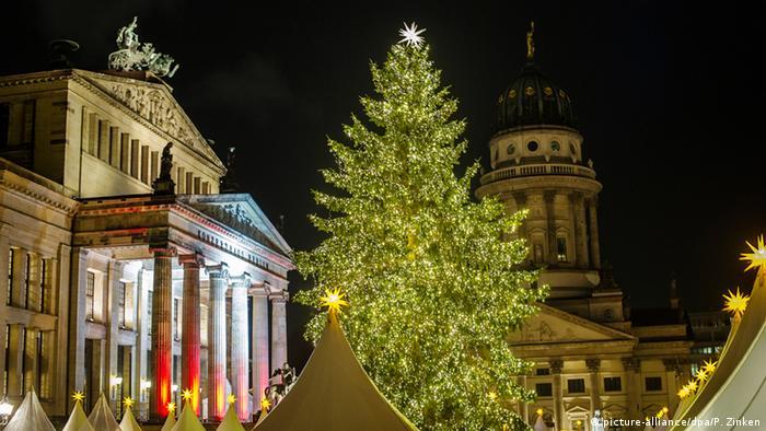 Weihnachtszeit in Berlin Gendarmenmarkt
