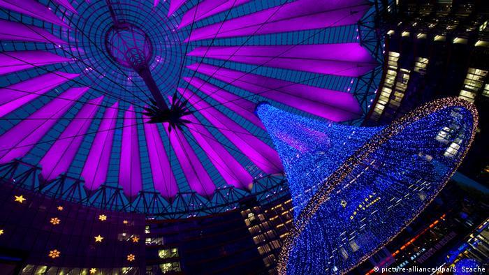 Weihnachtszeit in Berlin Sony Center
