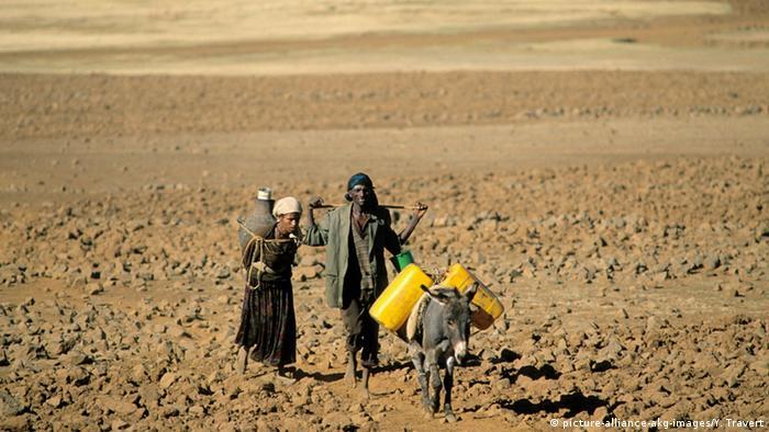 Äthiopien Dürre Wassertransport
