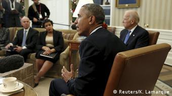 USA Präsident Barack Obama zur Schießerei in San Bernardino