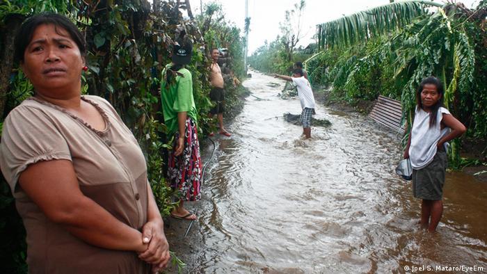 Philippinen Provinz Batangas Taifun