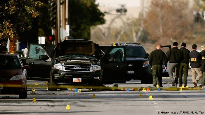 USA Kalifornien Schießerei in San Bernardino