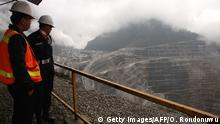 Indonesien Freeport McMoRan's Grasberg Goldmine in Papua