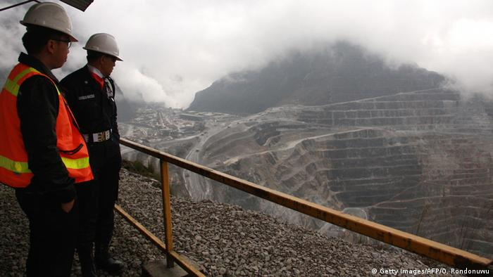 Indonesien Freeport McMoRan's Grasberg Goldmine in Papua (Getty Images/AFP/O. Rondonuwu)