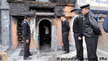 Ataque con molotovs en restaurante en El Cairo. (4.12.2015).