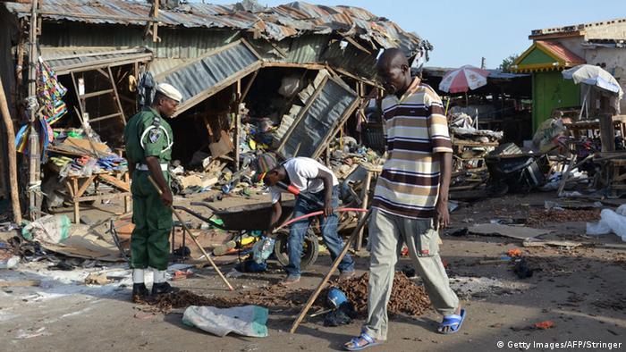 Tator eines Mutmaßlichen Boko-Haram-Anschlags - Foto: Stringer
