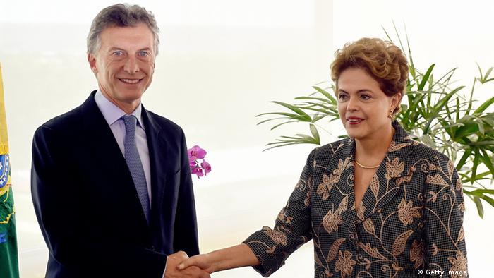 Macri tenta dar novo impulso à relação com Brasil