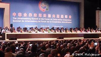Στο Γιοχάνεσμπουργκ είχε γίνει η τελευταία σύνοδος κορυφής Κίνας-Αφρικής