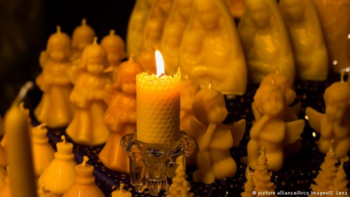 Candles made out of beeswax