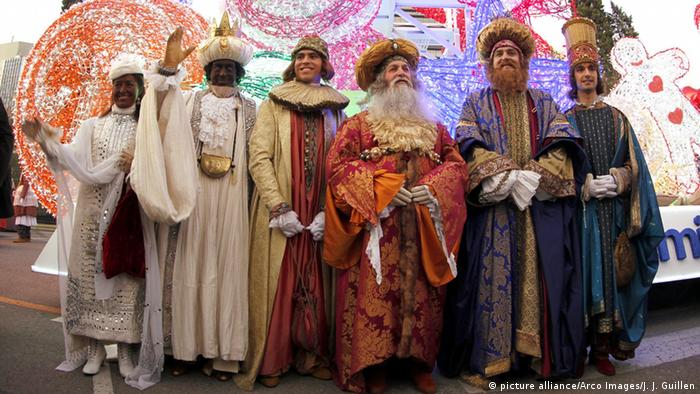 The Wise Men of Orient (picture alliance/Arco Images/J. J. Guillen)