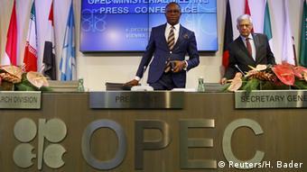 Wien OPEC Treffen Emmanuel Ibe Kachikwu