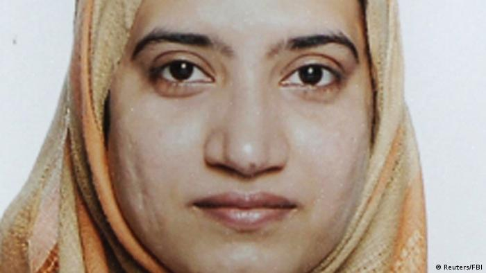 Tashfeen Malik is pictured in this undated handout photo provided by the FBI, December 4, 2015 (Photo: Reuters/FBI/Handout via Reuters)