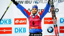 Biathlon World Cup in Ostersund Martin Fourcade