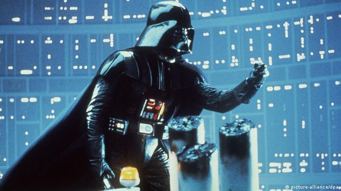 Darth Vader in Star Wars Episode VI Return of the Jedi