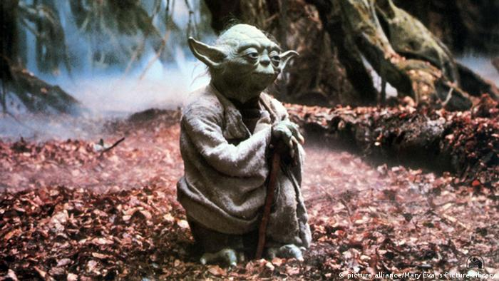 Star Wars - Yoda (picture alliance/Mary Evans Picture Library)