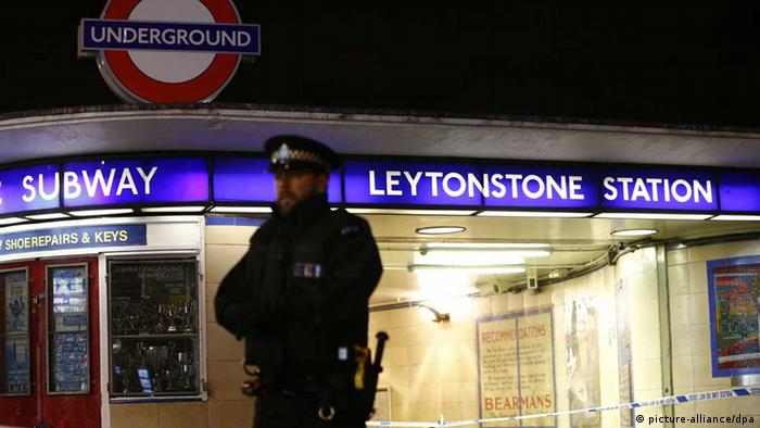 Knife attack at London underground station treated as 'terrorist incident'