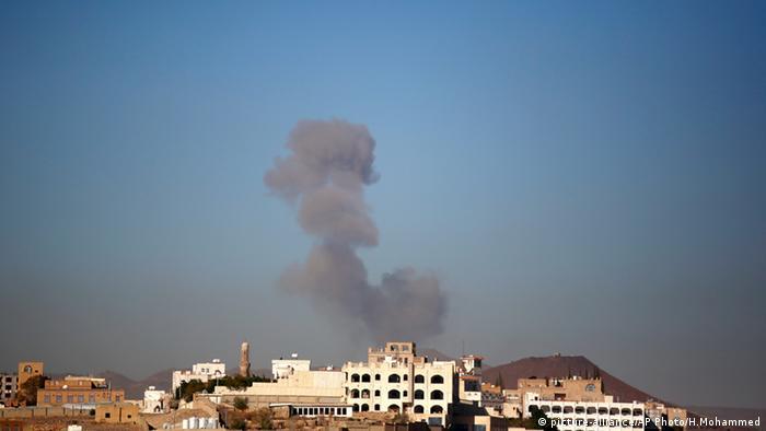 Sanaa Jemen Luftangriff Saudi Arabien