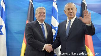 Joachim Gauck Besuch in Israel mit Benjamin Netanjahu - Foto: picture-alliance/dpa/R.Jensen